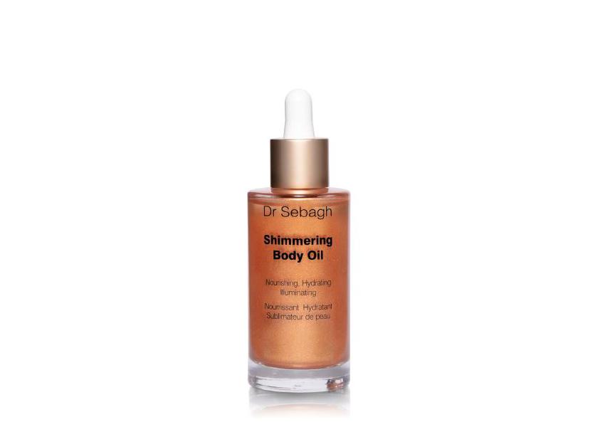 Мерцающее увлажняющее масло Shimmering Body Oil, Dr Sebagh