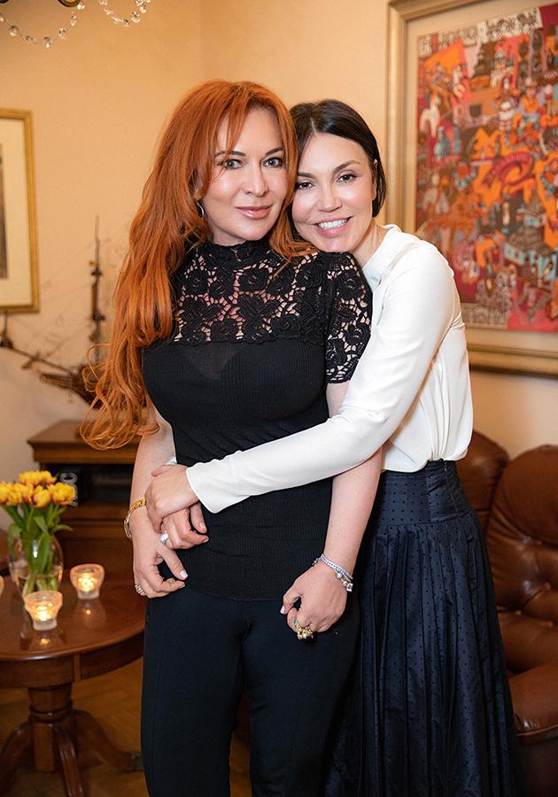 Елена Баранова и Татьяна Шевченко