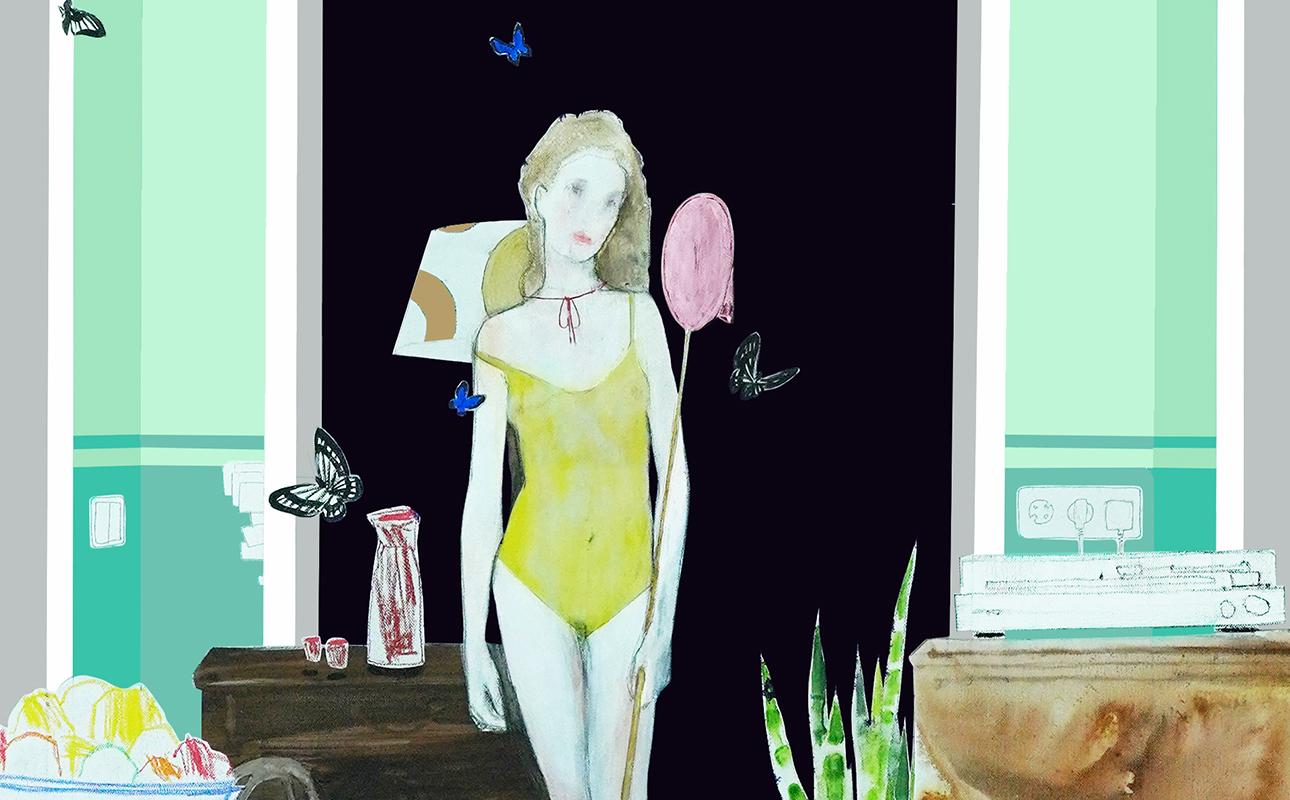 выставка Алексея Дубинского «Свет Звезды и Лабиринт Минотавра» в ММОМА