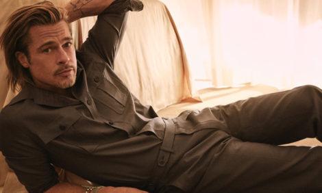 Men in Style: Брэд Питт создал капсульную коллекцию для Brioni