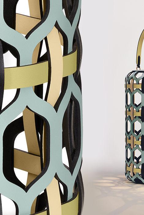 Дизайн & Декор: коллекция Objets Nomades Louis Vuitton пополнилась «плетеными» фонарями