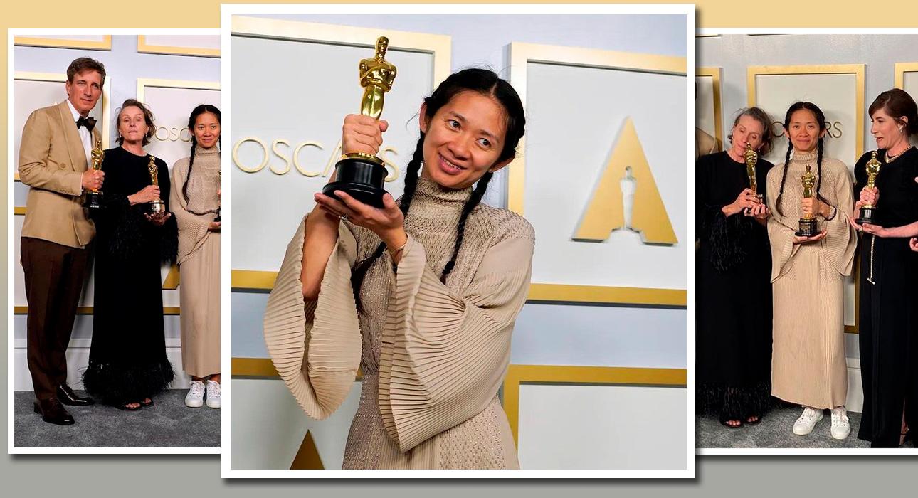«Оскар-2021»: воющая волком Фрэнсис Макдорманд, виртуальные стопки и триумф Хлои Чжао — главные итоги церемонии