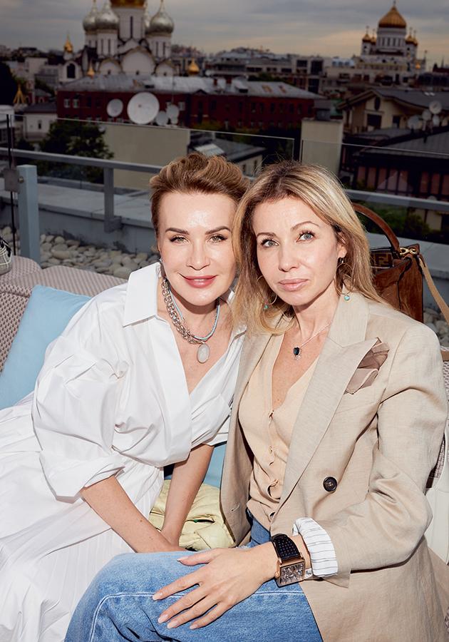 Ольга Панченко и Юлия Векслер