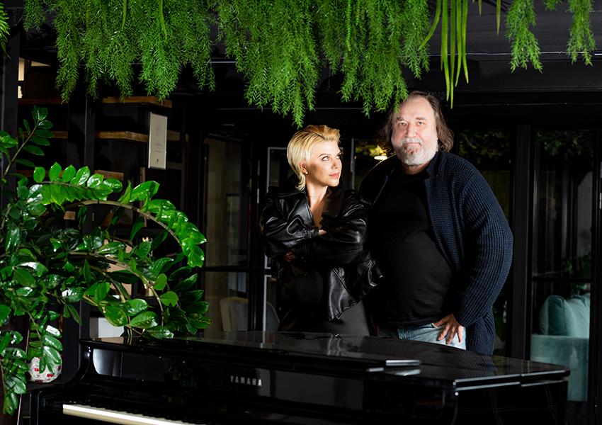 Липа Тетерич и Алексей Сеченов