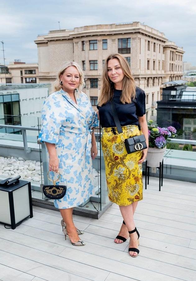 Татьяна Сабуренкова и Наталья Лучанинова
