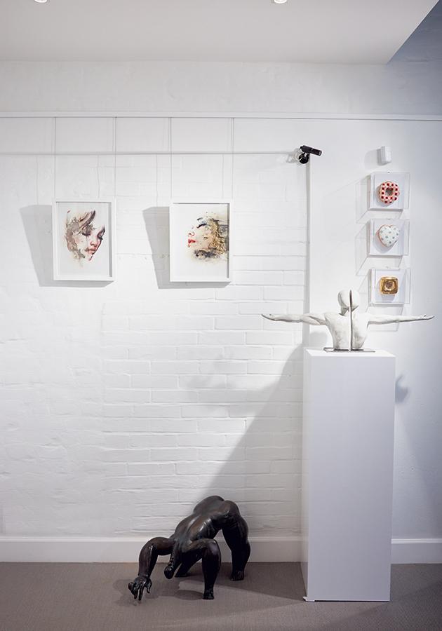«Сила красоты»: открытие персональной выставки Хуана Мигеля Паласиоса в Askeri Gallery