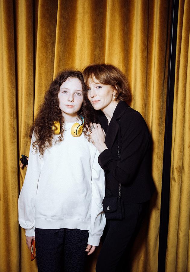 Полина Кутепова с дочерью