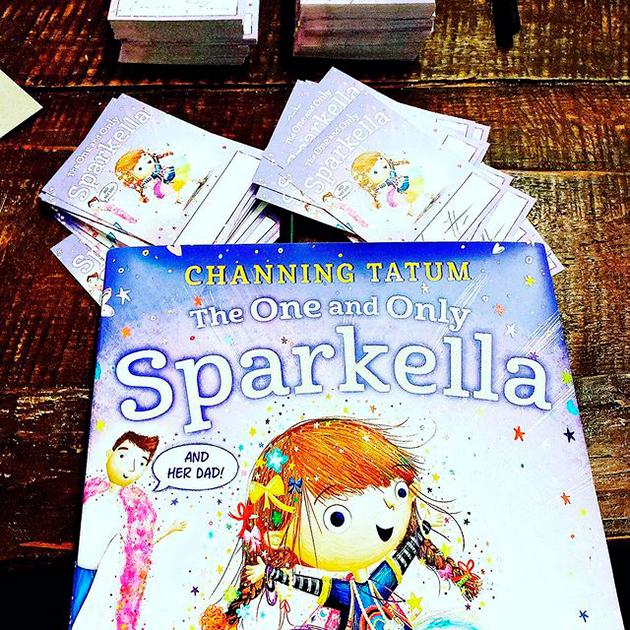 Ченнинг Татум написал книгу для детей под названием «Единственная и неповторимая Спаркелла».