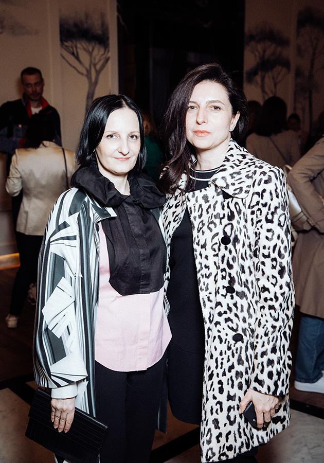 Светлана Тегин и Алиса Хазанова