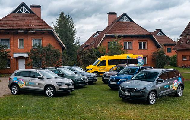 10-летний юбилей сотрудничества Škoda Auto и благотворительной организации «Детские деревни SOS»