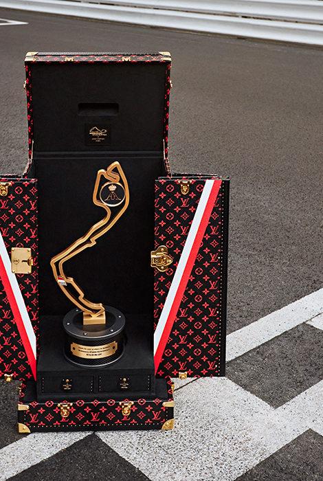 Louis Vuitton создал официальный кейс для перевозки трофея гонки «Формулы-1» Гран-при Монако