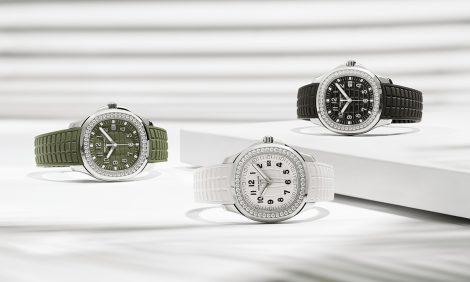 Часы & Караты: бриллианты и спортшик — новые версии Aquanaut Patek Philippe