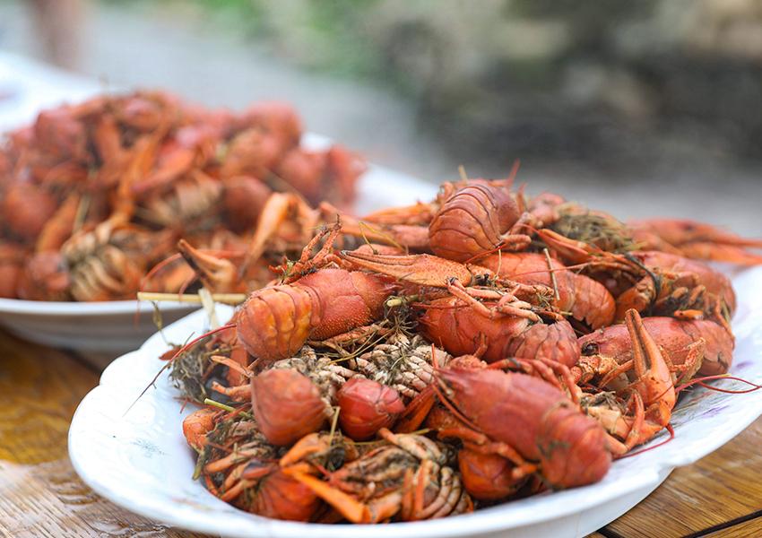Обед с раками — однозначно must. Тут они самые вкусные! Научитесь не только правильно их готовить, но и правильно есть.