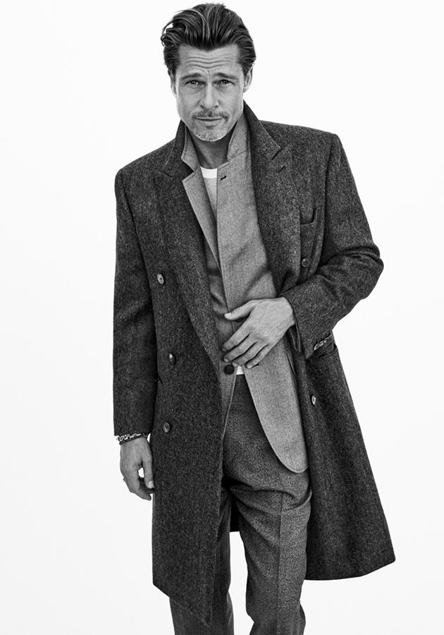 Men in Style: Брэд Питт снялся в новом кампейне Brioni