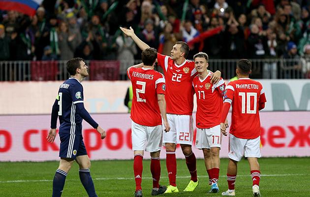 «Евро-2020»: где смотреть матч «Россия-Дания»