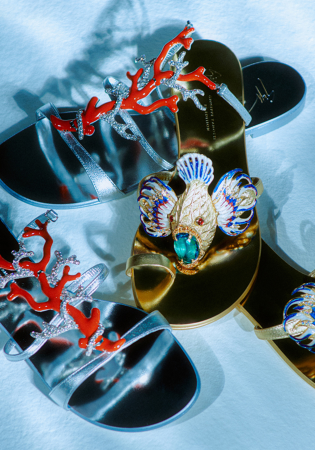 Coralli — третий эксклюзивный релиз проекта Giuseppe Zanotti Icons