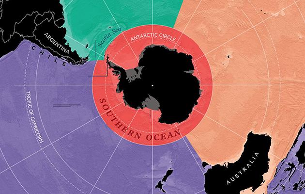Eco Living: на карте мира появится пятый океан — рассказываем, что в этом хорошего