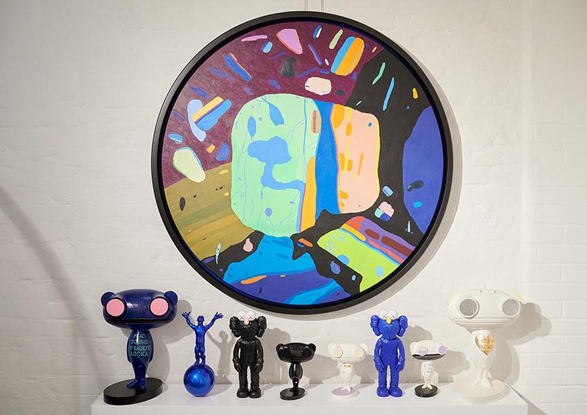 «Неуловимые миры»: открытие персональной выставки Глеба Скубачевского в Askeri Gallery