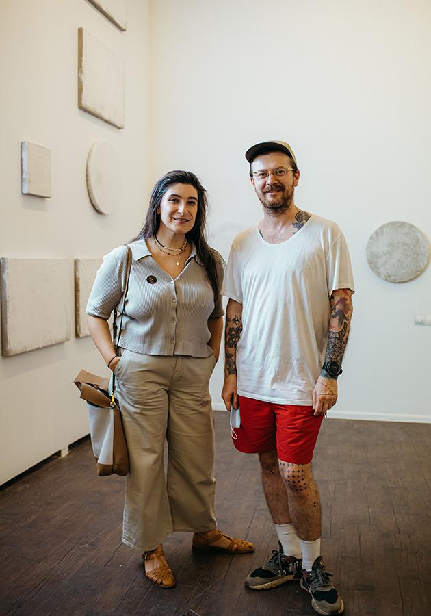 Таус Махачева и Олег Глушков