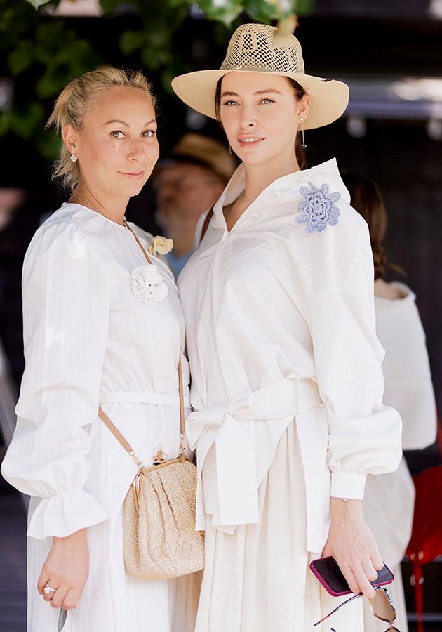 Марина Руднева и Ирина Зарькова