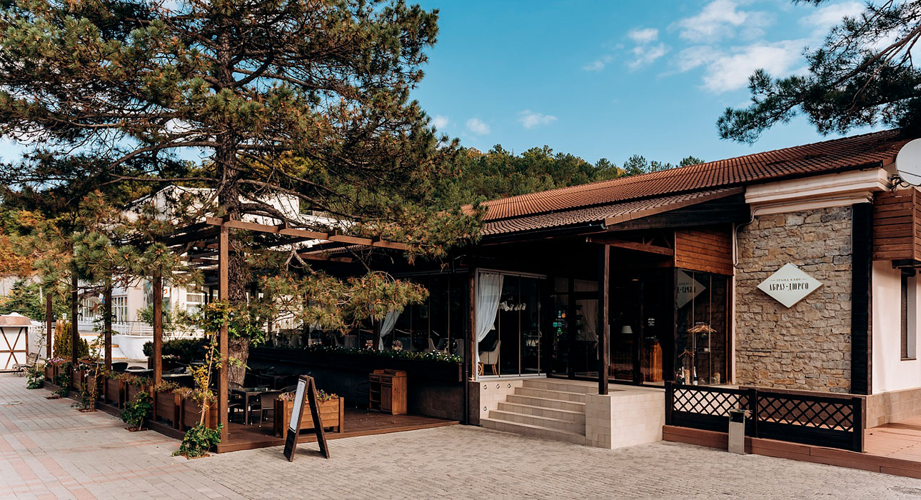 Ресторан «Гранд Кафе Абрау-Дюрсо»