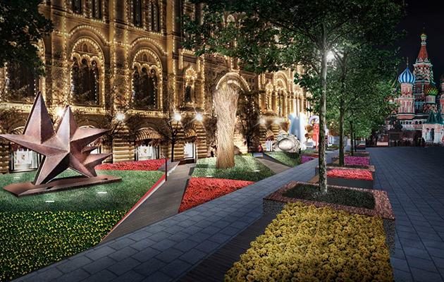 Выставка фестиваль «Красный сад»