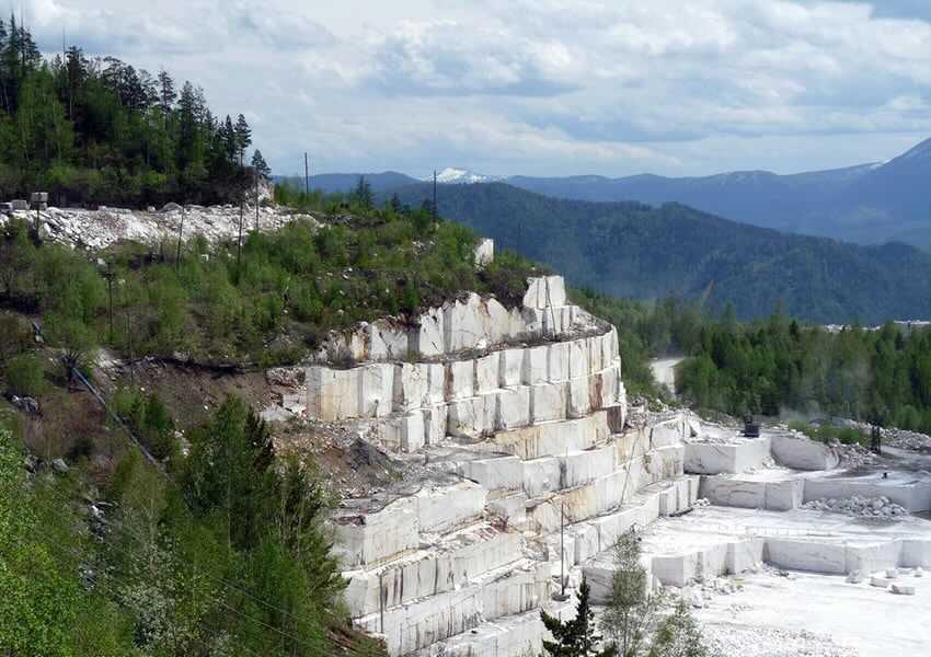 Кибик-Кордонское месторождение мрамора