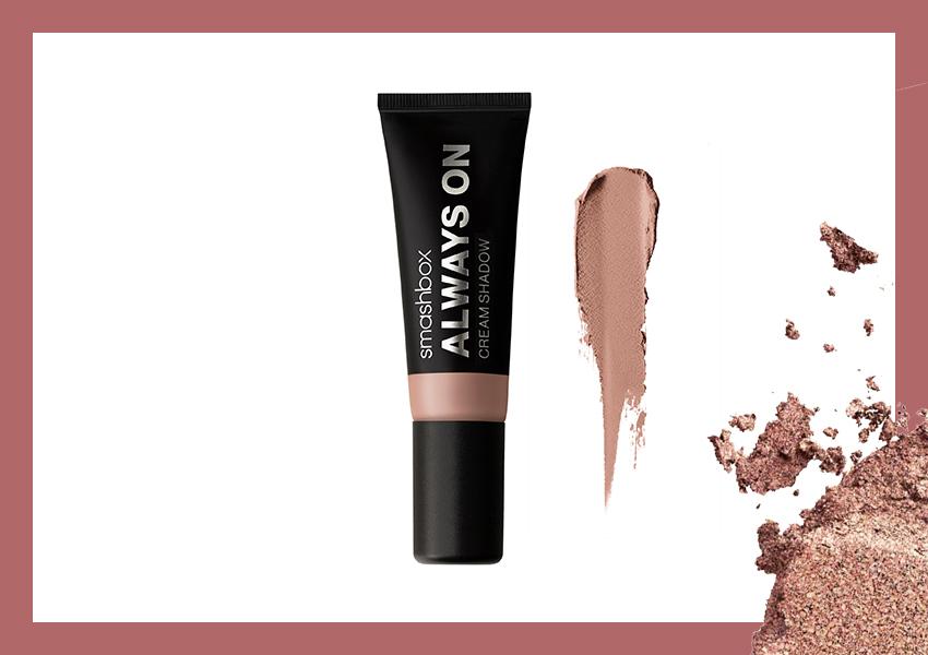 Стойкие кремовые тени Always ON (Rose), Smashbox