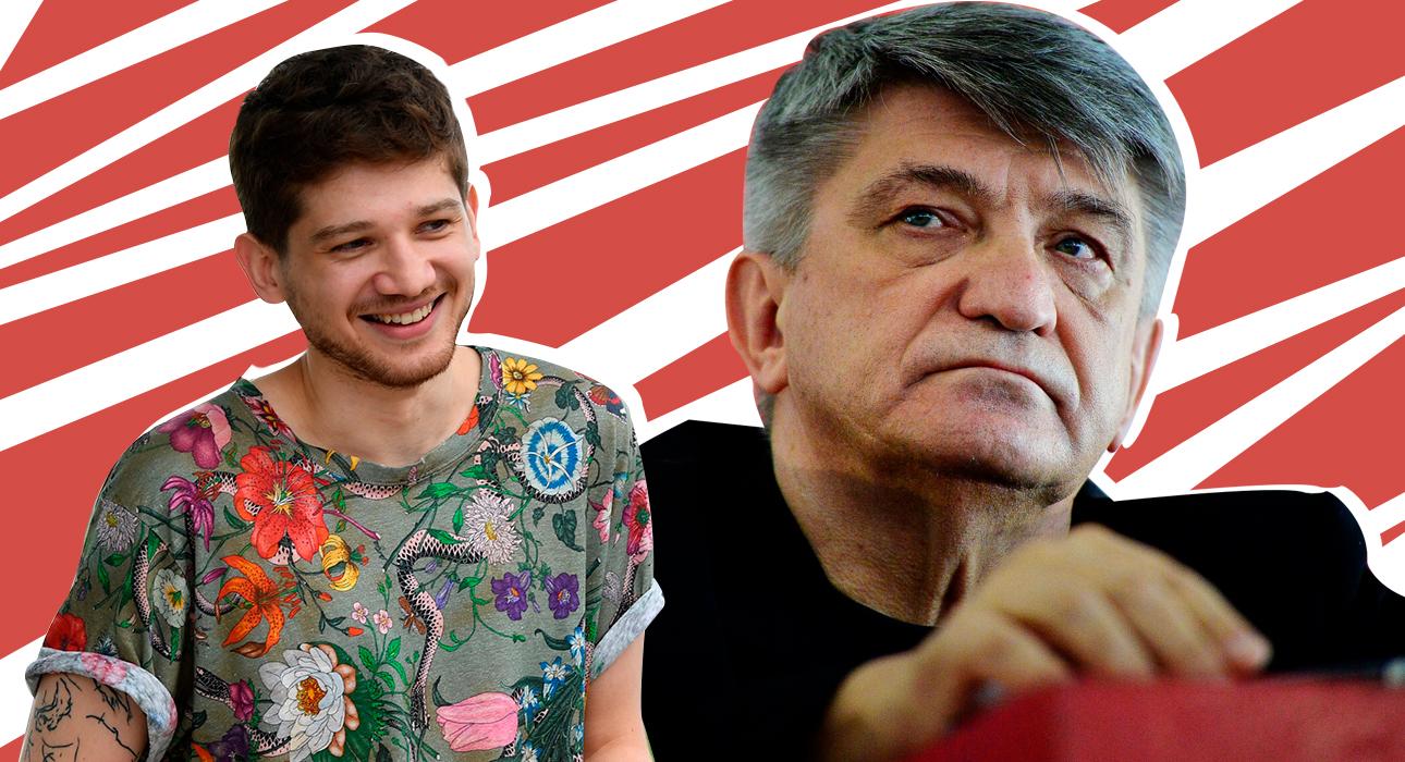 Кантемир Балагов и Александр Сокуров