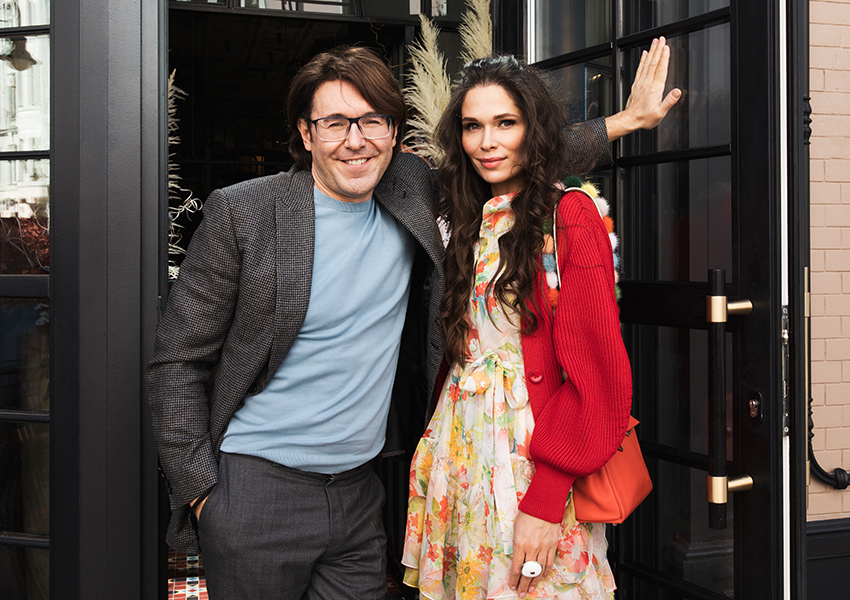 Андрей Малахов и Полина Аскери