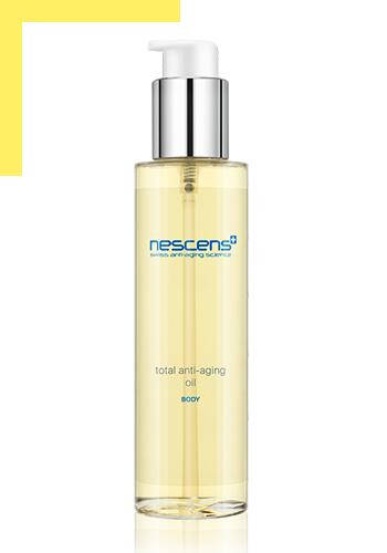 Новинка Nescens — укрепляющее массажное масло с антиэйдж-эффектом