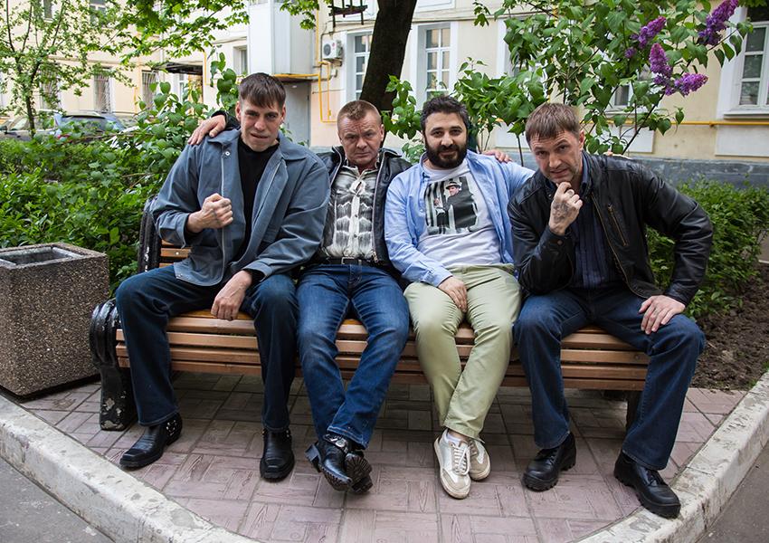 Первые фото со съемок «Ресторана по понятиям» Сарика Андреасяна