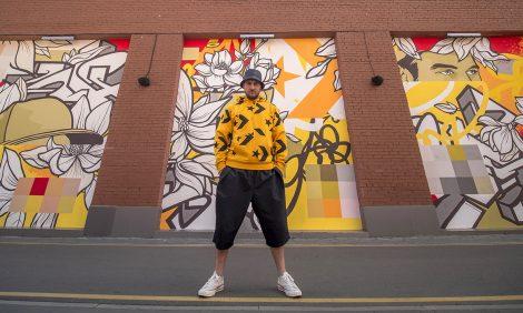 Eco Living: граффити, созданные при поддержке фонда City Forests Converse, очищают воздух