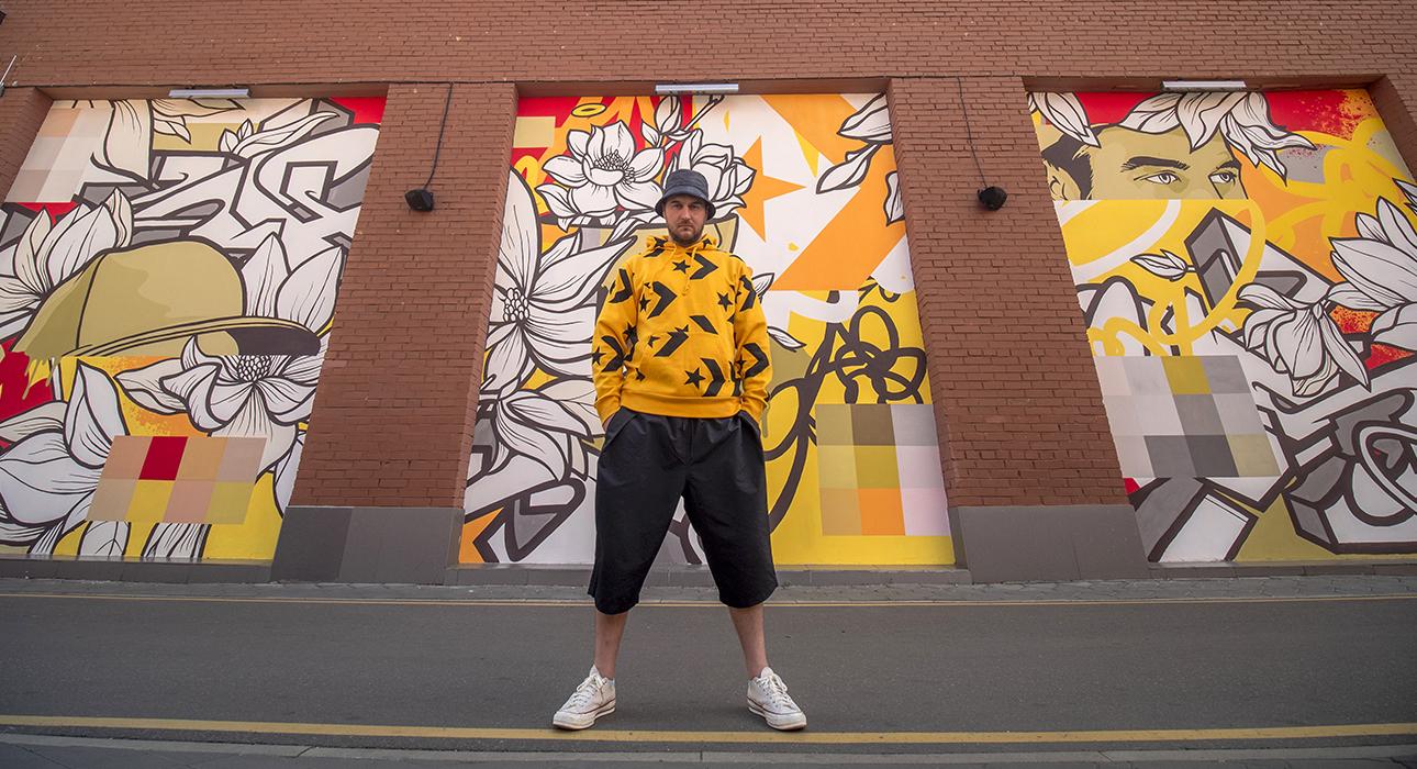 Граффити, созданные при поддержке фонда City Forests Converse, очищают воздух