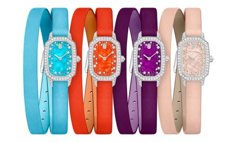 Часы & Караты: Harry Winston Emerald в новых цветах