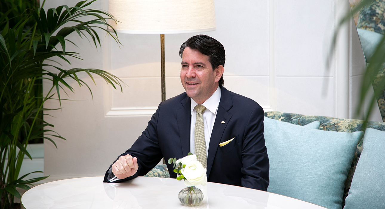 Профессия отельер: генеральный директор Mandarin Oriental Ritz, Мадрид Грег Лидделл