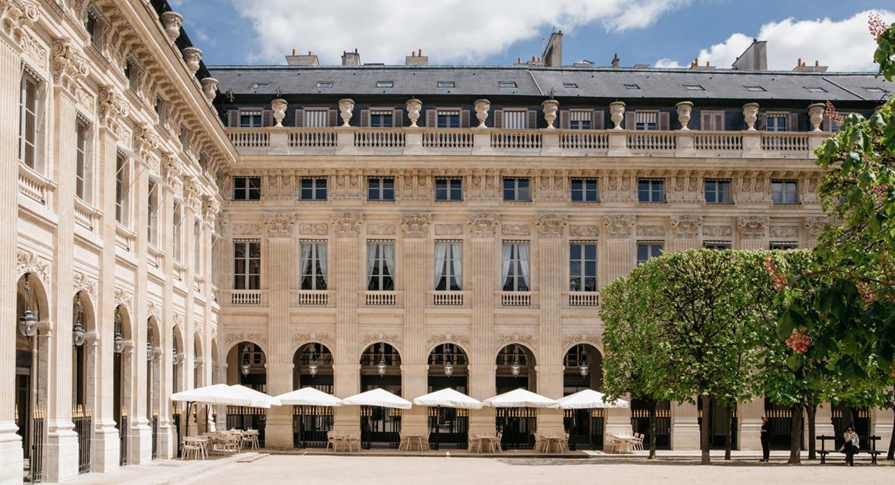 Palais Royal Le Restaurant: новое меню и смелые планы