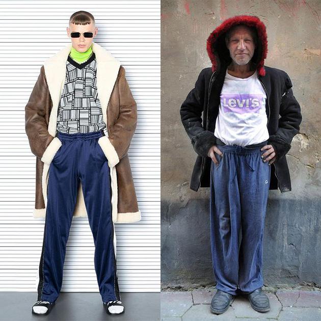 #Дежавю: украинский фотограф против Vetements — мог ли бренд «списать» новую коллекцию с образов бездомного?