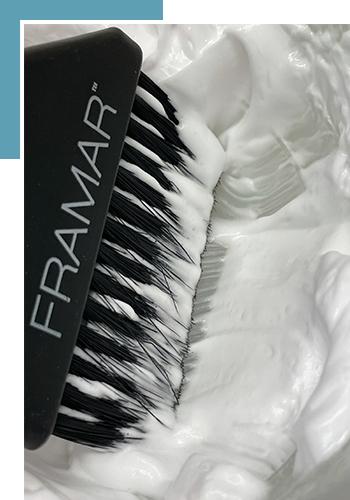 Термопластика для волос в салоне красоты Bless my Nails