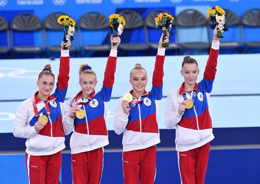 Лилия Ахаимова, Виктория Листунова, Ангелина Мельникова и Владислава Уразова