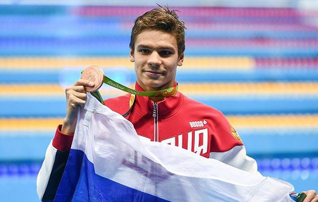 Евгений Рылов завоевал бронзовую медаль на Олимпийских играх в 2016 году