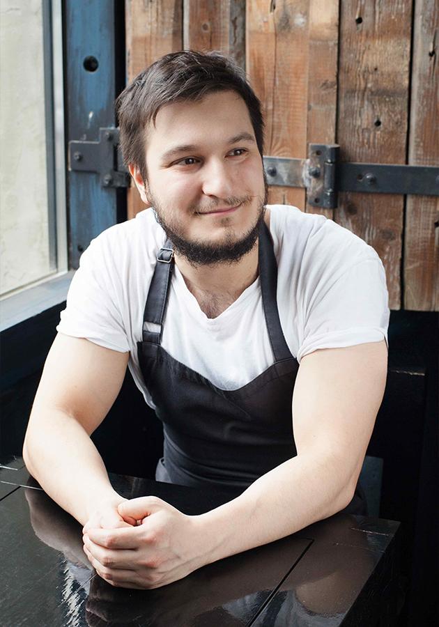 Шеф-повар Георгий Троян