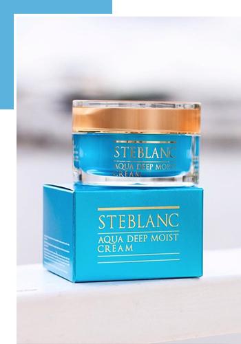Крем для лица Steblanc Aqua Deep Moist Cream
