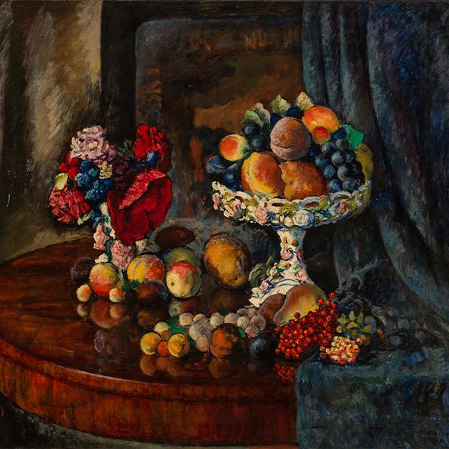 Машков И. Искусственные фрукты. 1922-нач.1923. Частное собрание