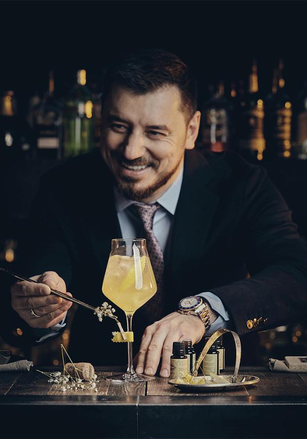 Бренд-шеф-бармен Алексей Мочнов