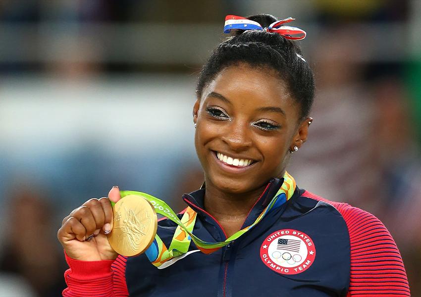 Симона Байлз на Олимпийских играх в Рио-де-Жанейро, 2016 год
