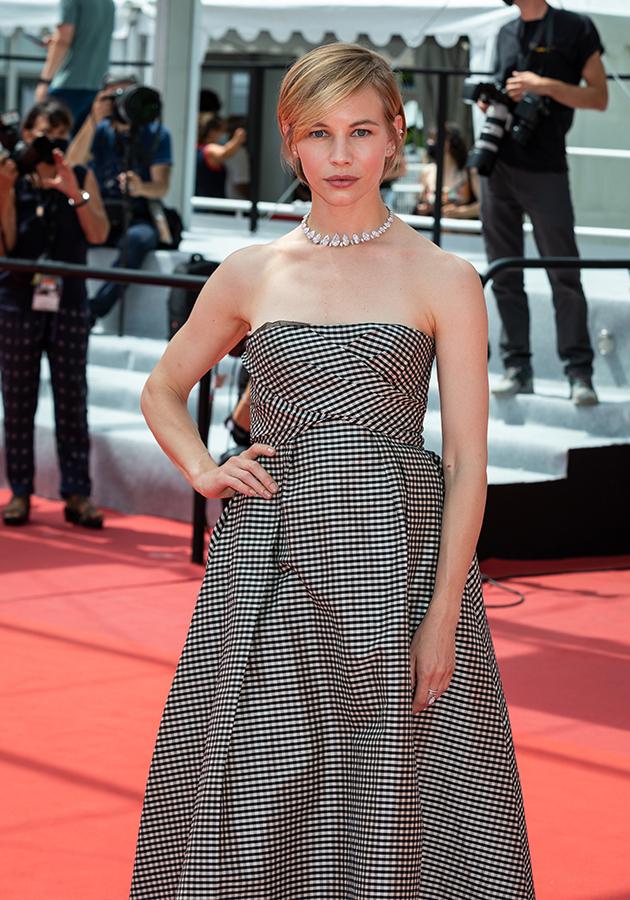 Светлана Устинова в корсетном платье Dior и в украшениях Messikа
