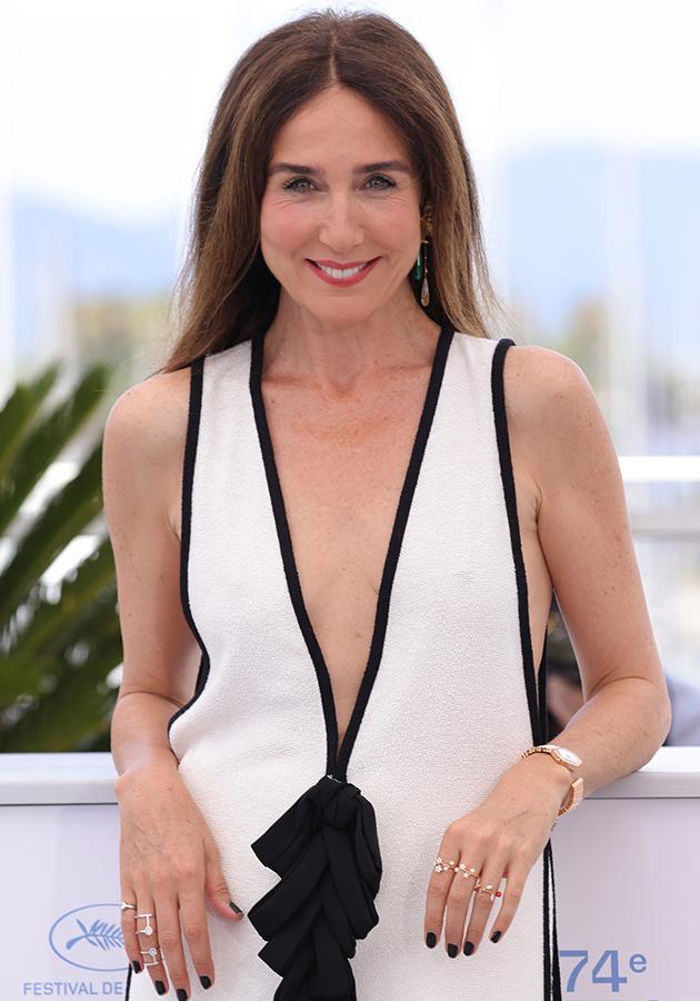 Эльза Зильберштейн в платье Chanel и украшениях Messika