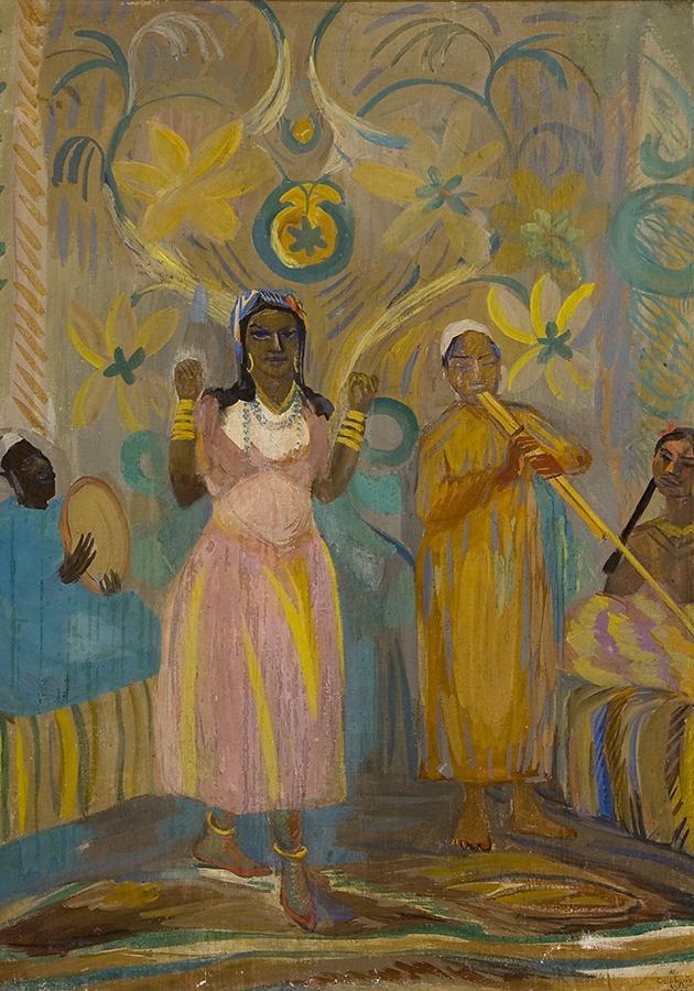 Сарьян М. Арабская танцовщица. 1913. Дом-музей Мартироса Сарьяна, Ереван