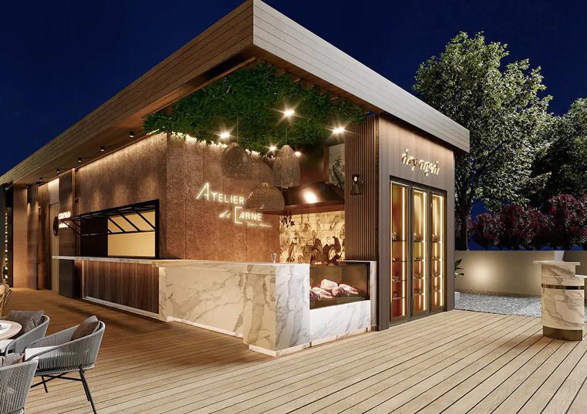 Ресторан Atelier Di Carne в отеле Mandarin Oriental, Bodrum